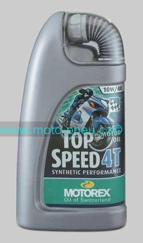 MOTOREX TOP SPEED 4T 10W40 1l
